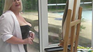 OldNannY British Matures Seductive Body Showoff