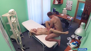 Doctor sees a gorgeous young patient, coupled with soon he was gender will not hear of good