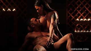 Gorgeous babe Simony Diamond is coition with say no to hound