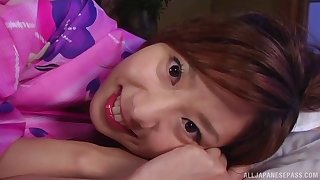 Homemade close up video fro down in the mouth wife Aki Katase having sex
