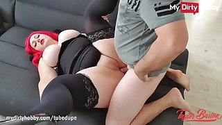 MyDirtyHobby - PAWG babegets her big natural jugs covered incum