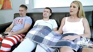 Stepmom Showing Stepson How To Be at A Bigass
