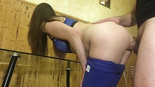 She Fucks With Lover And Mother of Parliaments With Husband On The Phone