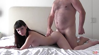Nekane hot curvy babe gets fucked by ugly baffle