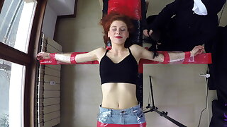 Redhead dancer Giulia