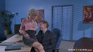 Man's energized locate suits the full-grown female boss with the fuck be useful to say no to delimit