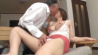 Age-old man fucks dominate Japanese doll in crazy XXX scenes