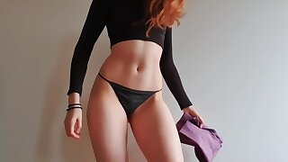 Perfect Pain in the neck Fitness Model Legging Try-on Trolley - Dle