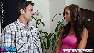 Slutty sister's friend Whitney Westgate allows to lick coupled with fucks her ambrosial pussy