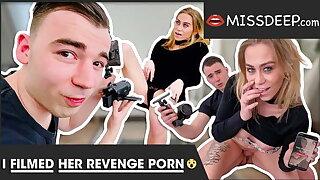 My boyfriend cheats beyond everything me: THIS IDIOT rails me! MISSDEEP.com