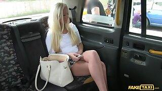 British Blondie Cheats On Boyfriend With Cabbie's Dick