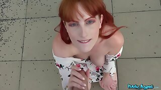Busty ginger Alex Harper relating to hot POV action