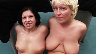 mother and dauther greatest age anal bukkkake orgy