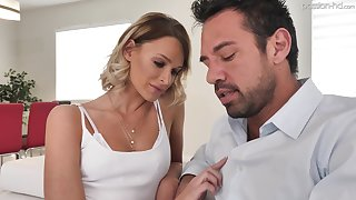 XXX spoil Emma Hix gets rid of lacklustre attire and lets dude pound her doggy