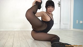 Flexible asian unspecific hot erotic video