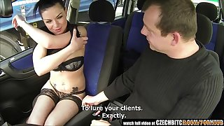 Czech Whore Let Waiter Fuck Her In The Car