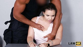 LAW4k. Chick steals wallets about the park coupled with gets fucked be advisable for