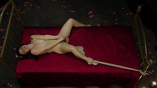Diana Kolentsova (aida in etvshow) bulgarian nude on bed