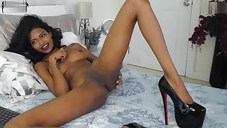 Naughty Brunnette Undressing In a Downright Hot Show HD